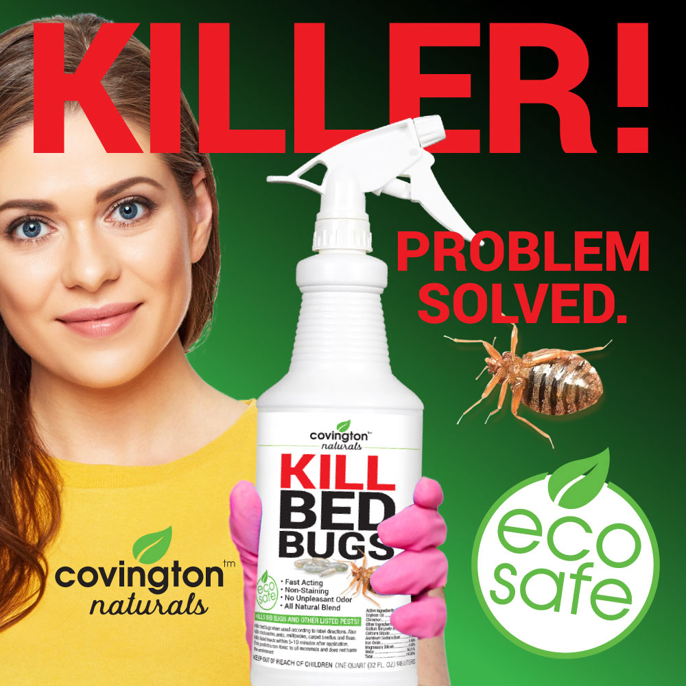 Covington Naturals Kill Bed Bugs