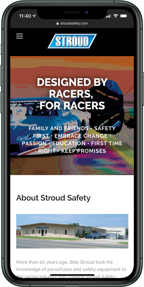 Stroud Safety website